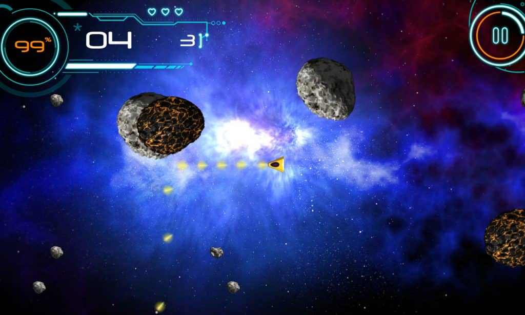Rock Blaster web based HTML5 game